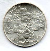 CZECHOSLOVAKIA, 500 Korun, Silver, Year 1987, KM #136 - Checoslovaquia