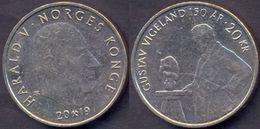 Norway 20 Kroner 2019 VF < Gustav Vigeland 150 Ar > - Norvège