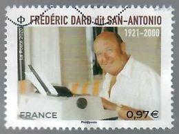 France 2020-1 Frederic Dard - Oblitérés