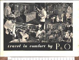 Advertising - P&O Lines - Pubblicità 1951 - Unclassified