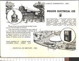 Advertising - Philips Electrical Ltd. - Pubblicità 1951 - Non Classés