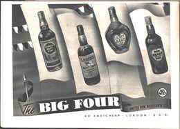 Advertising - The Big Fourd From United Rum Merchants Ltd. - Pubblicità 1951 - Non Classés