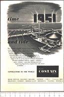 Advertising - Richard Costain Limited - Pubblicità 1951 - Non Classés