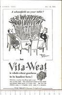 Advertising - Cracker Vita-Weat By Peek Frean's - Pubblicità 1951 - Non Classés