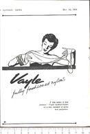 Advertising - Calze In Nylon Vayle - Pubblicità 1951 - Non Classés