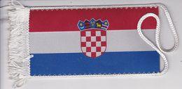 CROATIA  -   CROATIAN FLAG   - 16cm X 8 Cm  --  BANNER, PENNANT, DRAPEAU, BANDIERA - Flags