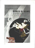Advertising - Banco Di Roma. 1940 - Non Classés