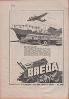 Advertising - Breda -  1940 - Non Classés