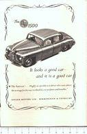 Advertising - Singer SM 1500 - 1951 - Non Classés