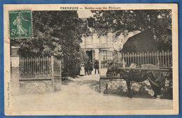 RARE CPA 76 FRENEUSE - Rendez-vous Des Pêcheurs - Café - Autres Communes