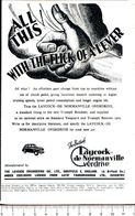 Advertising - All This! Laycock De Normanville Overdrive - 1951 - Non Classés