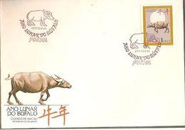 Macau & FDC Lunar Year Of The Buffalo 1995 (6868) - Macau
