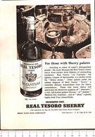 Advertising  - Real Tesoro Sherry - 1951 - Non Classés