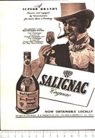 Advertising - Cognac Salignac- 1951 - Non Classés