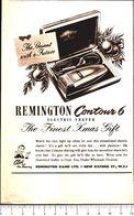 Advertising - Contour 6. Rasoio Elettrico Remington - 1951 - Non Classés