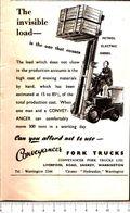 Advertising - Carrelli Elevatori. Conveyacer Fork Truls Ldt. - 1951 - Non Classés