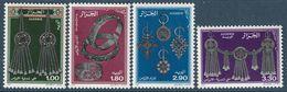 ALGERIE - N°888/91 ** (1987) Bijoux - Algérie (1962-...)