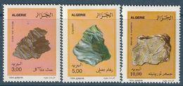 ALGERIE - N°1073/5 ** (1994) Minéraux - Algérie (1962-...)