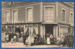 CPA 76 ENVERMEU (Seine-Inférieure) - Quincaillerie BENOIT, Place Du Marché - Envermeu