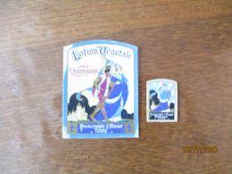2 ETIQUETTES MIRALY PARIS LOTION VEGETALE AU QUINQUINA ETPRICESSE D'AZUR - Etichette