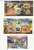 CENTRAFRIQUE - N°1395/1406 + Bloc N°153 ** (1998) Minéraux - Minerals