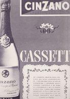 (pagine-pages)PUBBLICITA' CINZANO  L'europeo1955/532. - Livres, BD, Revues