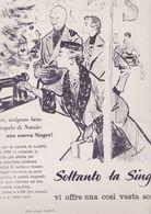 (pagine-pages)PUBBLICITA' SINGER  L'europeo1955/532. - Livres, BD, Revues