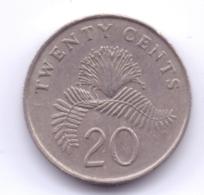 SINGAPORE 1993: 20 Cents, KM 101 - Singapore