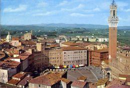 Siena - Panorama Dal Duomo - Formato Grande Viaggiata Mancante Di Affrancatura – E 16 - Siena