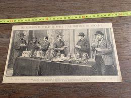 ANNEES 20/30 EXPERIENCES DEVANT LE PUBLIC POUR PREPARER DU BON CAFE - Sammlungen