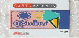 48-Carta Azienda-Bar Marina-Il Cremino-Nuova In Confezione Originale - Phonecards