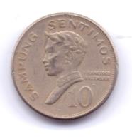 PHILIPPINES 1971: 10 Sentimos, KM 198 - Philippines