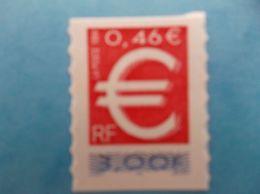 TIMBRE : No: 3215a , TIMBRE EURO ,VARIETE, Avec IMPRESSION INVERSEE De La GOMME Sur La COUVERTURE,XX,en Parfait état. - Neufs