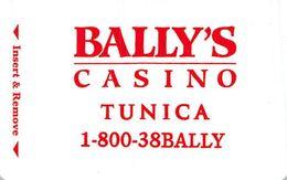 Bally's Casino - Tunica MS - Hotel Room Key Card - Hotelsleutels (kaarten)