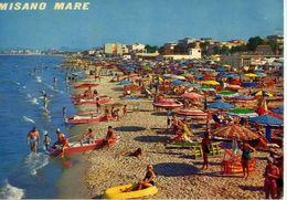 Misano Mare - La Spiaggia - Formato Grande Viaggiata – E 16 - Non Classés