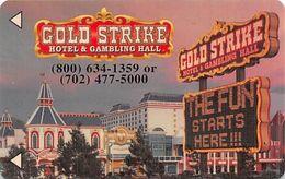 Gold Strike Casino - Jean, NV - Hotel Room Key Card - Hotelsleutels (kaarten)