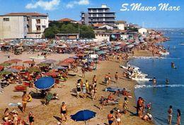 San Maruro Mare - La Spiaggia - Formato Grande Viaggiata – E 16 - Italie