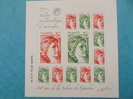 TIMBRE : No: F5179 : FEUILLET SABINE De GANDON , Dans Son Emballage D'origine,XX,en Parfait état. - Unused Stamps