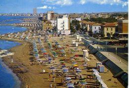 Viserbella - Panorama Della Spiaggia - Formato Grande Viaggiata – E 16 - Non Classés