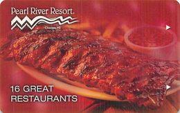 Pearl River Resort Casino - Choctaw, MS - Hotel Room Key Card - Hotelsleutels (kaarten)