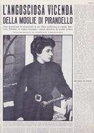 (pagine-pages)ANTONIETTA PORTULANO PIRANDELLO  Oggi1960/01. - Livres, BD, Revues