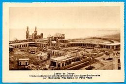 CPA 76 Casino De DIEPPE Travaux...ciment...super-boulonnaise...entreprise Plée-Caron De Paris-Plage...POLIET & CHAUSSON - Dieppe