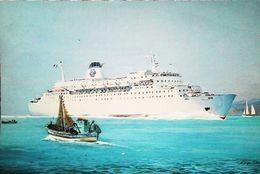 Paquebot Ferry - NAPOLEON  - SNCM - Carte Armateur - Fähren