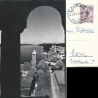 "AK  ""Rab""  Lovran - Gera              1958 - Jugoslavia"