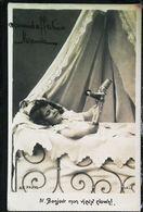 CPA  Enfant Lit à Baldaquin  Poupée Clown 1904 - Games & Toys