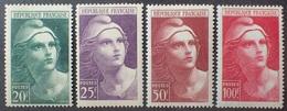 VL3804/125 - 1945/1947 - TYPE MARIANNE DE GANDON N°730 à 733 NEUFS** - Cote (2020) : 21,70 € - France