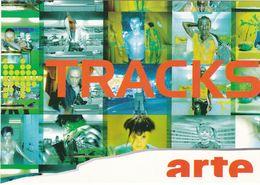 D2154 CARTE PUBLICITAIRE  - CHAÎNE ARTE - TRACKS - MUSIQUE TOUS LES VENDREDIS 19H00 - Cinema
