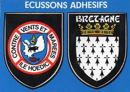 ILE HOEDIC - Ecussons Adhesifs - Francia
