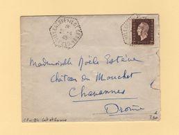 Villeneuve Sur Lot - CP N°94 - Lot Et Garonne - 26-4-1945 - Marianne De Dulac - Postmark Collection (Covers)