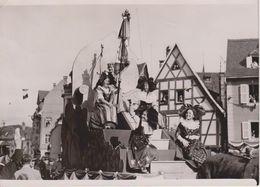 68 - PHOTO 180x120 - COLMAR - LE PRESIDENT ALBERT LEBRUN PRESIDE LES FETES DU VIN LE 22.05.1936 - Colmar
